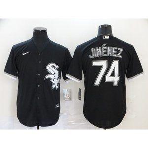 Chicago White Sox Elroy Jimenez Black Jersey